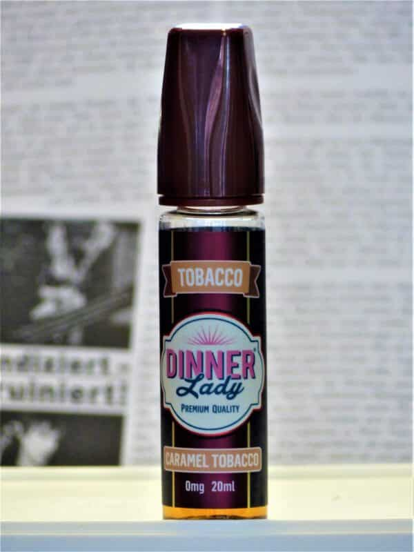 Caramel Tobacco Longfill - Dinner Lady Geschmack Tabak