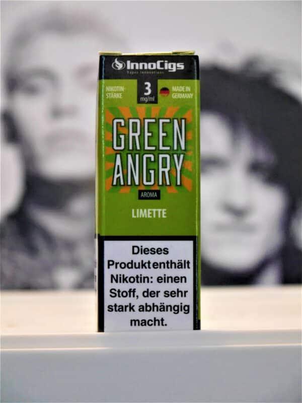 Green Angry Limette 10 ml Liquid - IC