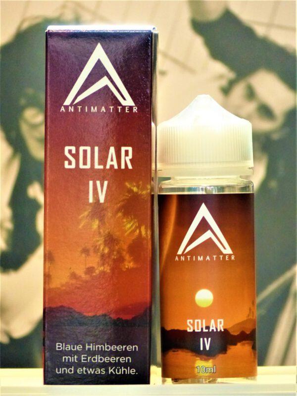 Solar IV Longfill - Antimatter