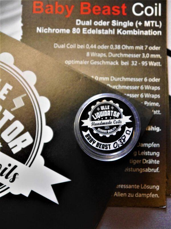 Baby Beast Coil Dual 0,38 Ohm - Ulle Liquidator