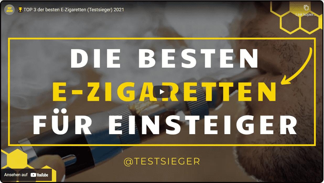 Beste Einsteiger E Zigarette 2021 - Video