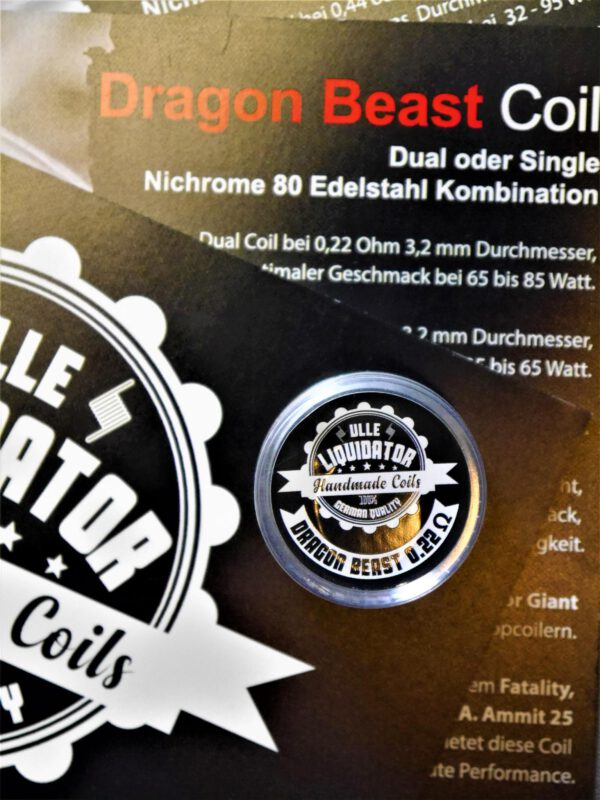 Dragon Beast Coil Dual 0,22 Ohm - Ulle Liquidator