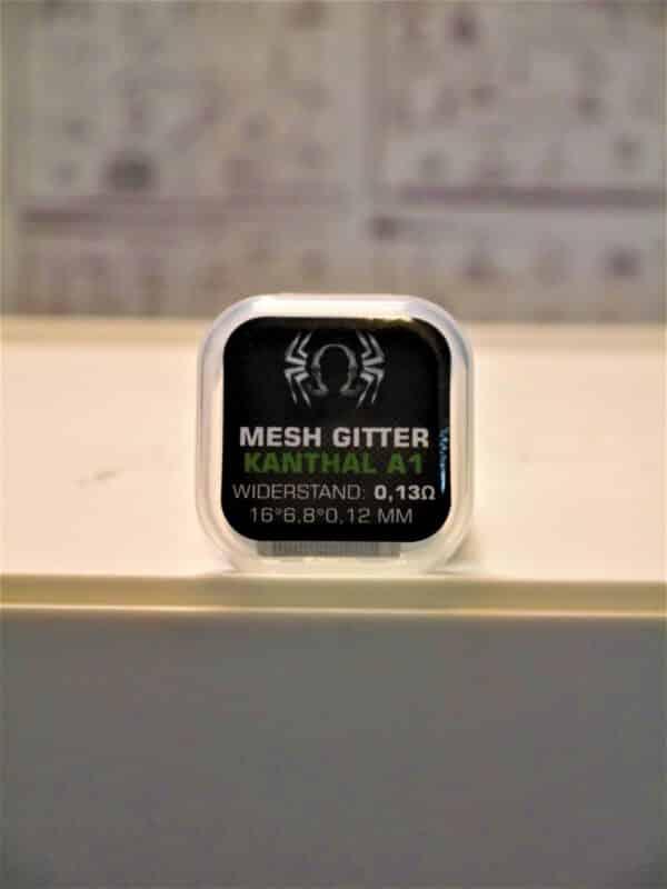 Mesh Gitter Kanthal A1 0,13 Ohm - SpiderVape