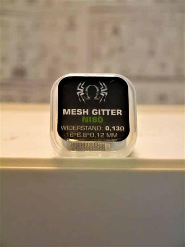 Mesh Gitter Ni80 0,13 Ohm - SpiderVape