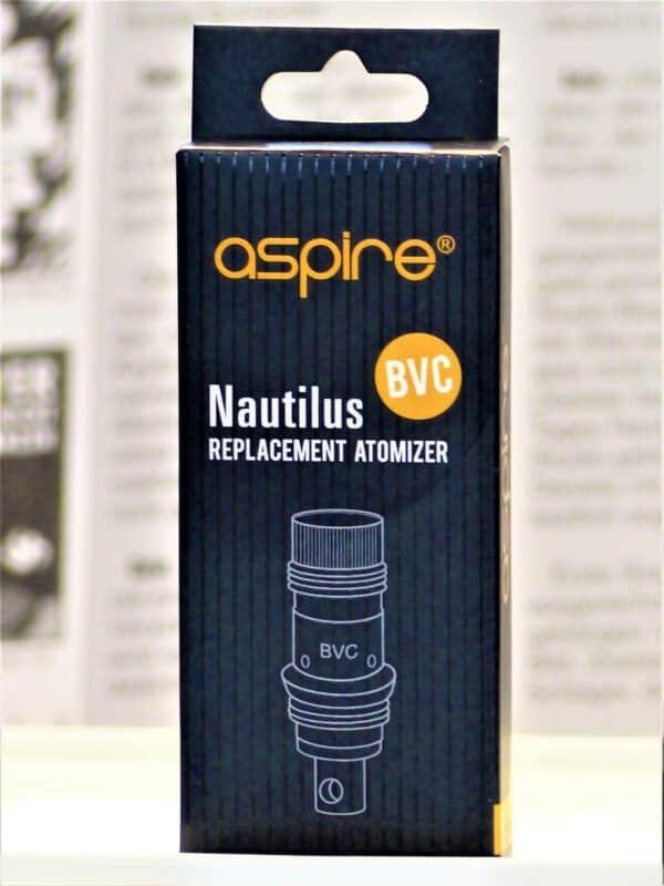 Nautilus BVC Coil Ersatzverdampferköpfe 1,8 Ohm 5 Stk  - ASPIRE