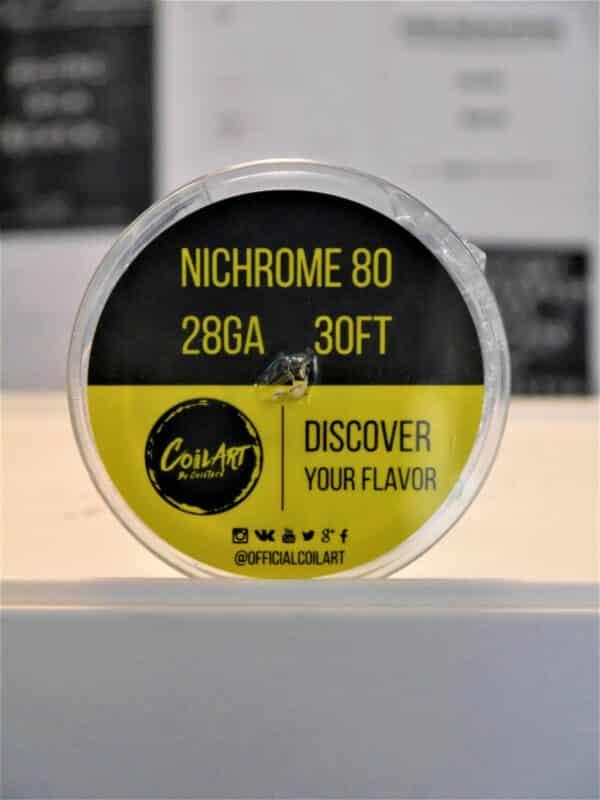 Nichrome 80 28GA 30FT Wickeldraht - COILART