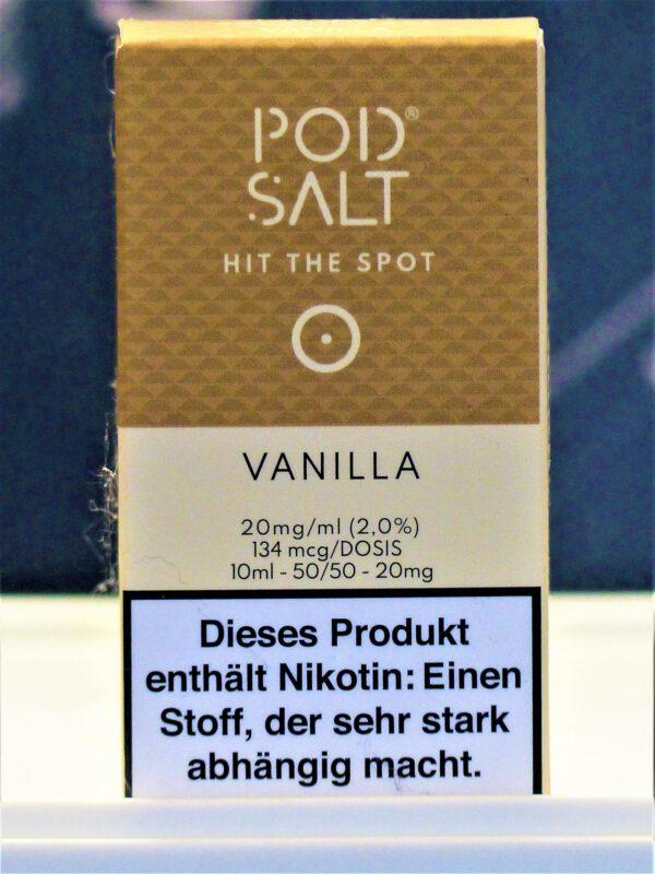 Vanilla Nikotinsalzliquid - Pod Salt
