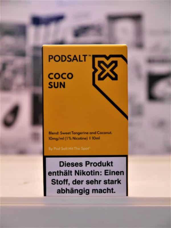 Coco Sun 10 ml Nikotinsalzliquid - Pod Salt