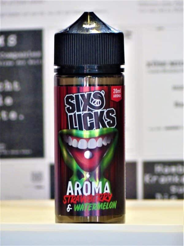 Strawberry Watermelon Longfill - SIX LICKS