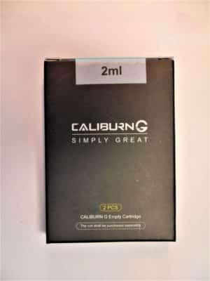 2x Caliburn G Cartridge 2 ml - UWELL