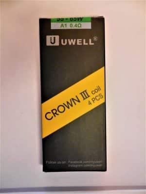 4x Crown 3 Ersatzverdampferköpfe 0,4 Ohm - UWELL