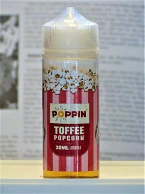 Toffee Popcorn Longfill - POPPIN