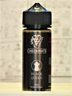 Checkmate Black Queen Longfill - DAMPFLION