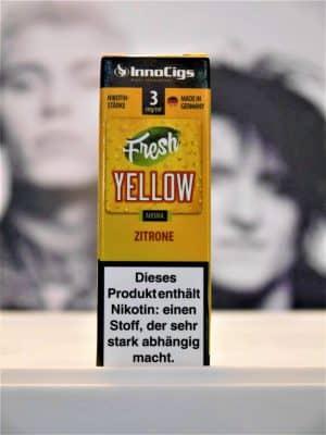 Fresh Yellow Zitrone 10 ml Lquid - IC