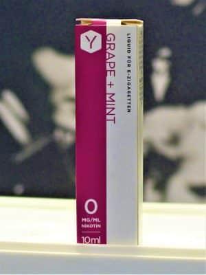 Grape Mint 10 ml Liquid - Lynden - Frucht Traube Kühle