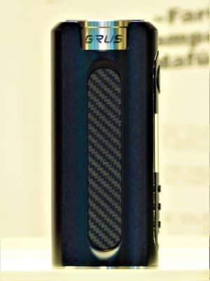 Grus Mod Akkuträger black carbon - Lost Vape
