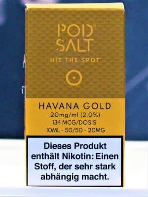 Havana Gold Nikotinsalzliquid - Pod Salt