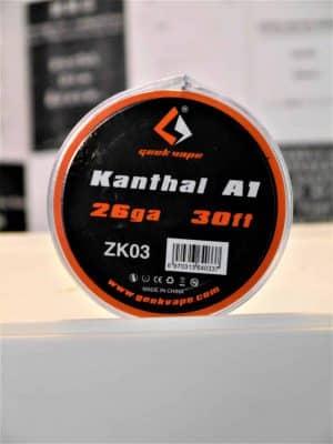 Kanthal A1 26ga 30ft Drahtspule - GEEK VAPE