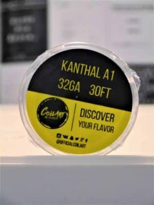 Kanthal A1 32GA 30FT Wickeldraht - COILART