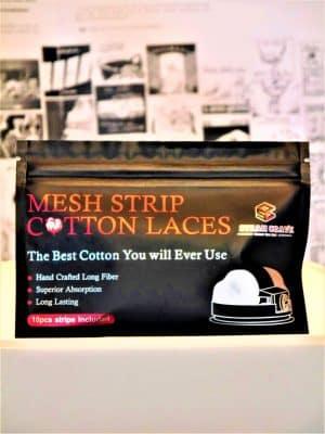 Mesh Strip Cotton Laces - Steam Crave