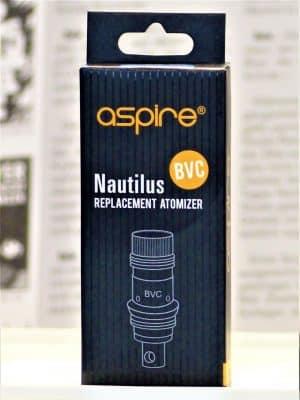 Nautilus BVC Coil Verdampferköpfe 1,6 Ohm 5 Stk - ASPIRE