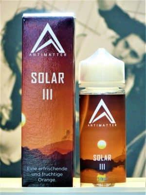 Solar I LongfilIl - Antimatter