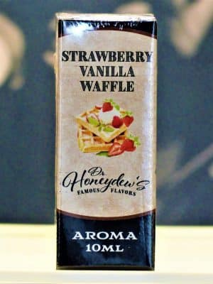 Strawberry Vanilla Waffle 10 ml Aroma - DR HONEYDEWs