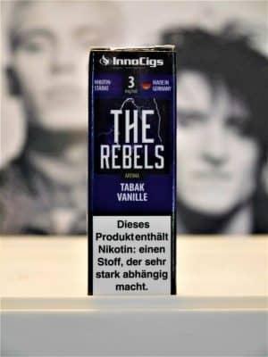 The Rebels Tabak Vanille 10 ml Liquid - IC