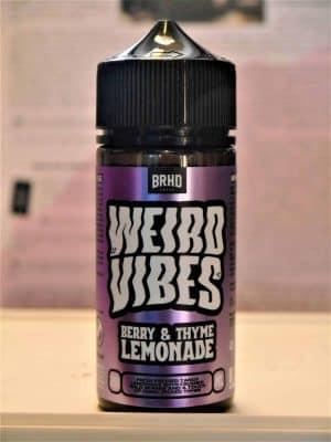 Weird Vibes Berry Thyme Lemonade Longfill - Barehead