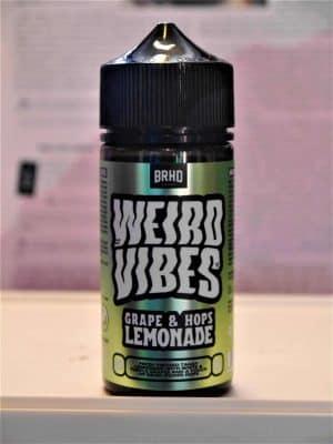 Weird Vibes Grape Hops Lemonade Longfill - Barehead