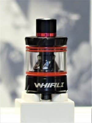 Whirl 2 Fertigcoil Tankverdampfer rot schwarz - Uwell